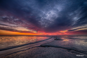 Bild: »Hoher Himmel - Weites Land. Mein Blick auf das Wattenmeer«