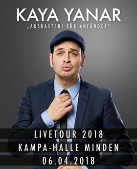 Bild: Kaya Yanar - Ausrasten für Anfänger Tour 2018