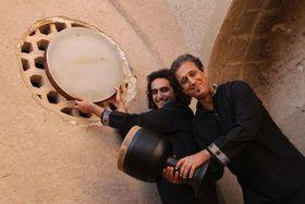 Bild: Duo Samani - persische Percussion