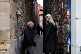 Bild: Harald Hurst und Gunzi Heil - Live - was sonscht