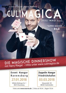 Bild: Culimagica - Die magische Dinner-Show