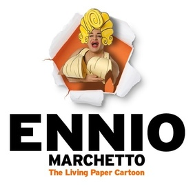 Bild: Ennio Marchetto - The Living Paper Cartoon