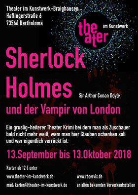 Bild: Sherlock Holmes und der Vampir von London - nach Sir Arthur Conan Doyle