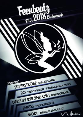 Bild: FEEN BEATZ - Superstrobe - IU2U Records