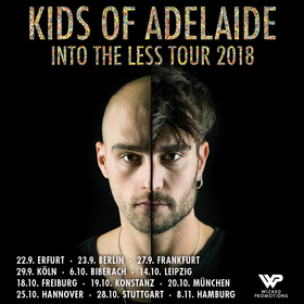 Bild: KIDS OF ADELAIDE - Into The Less – Tour 2018