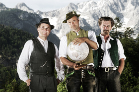 Bild: Knedl & Kraut - Lachlederne Wirtshausmusik