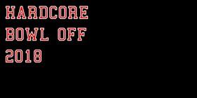 Hardcore-Bowl-Off 2018 - Heute wird´s laut