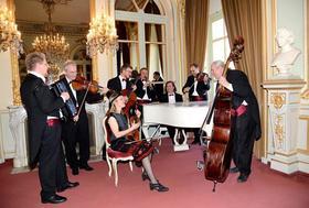 Bild: Neujahrskonzert  mit dem Salonorchester Baden - Baden