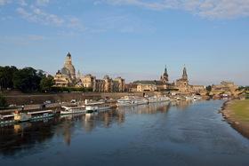 Bild: Elbepanorama - Moldau und Prag