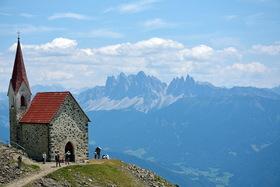 Bild: Südtirol - Vom Reschen bis zu den Dolomiten