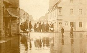Bild: Mit der Elbe durch Höhen und Tiefen - Elbschifffahrt und Hochwasser im Laufe der Jahrhunderte, Vortrag von Andrea Bigge
