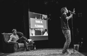 Bild: Poetry Slam zum Thema Nachhaltigkeit - Kooperationsveranstaltung der Kreissparkasse Reutlingen und Fridi unverpackt