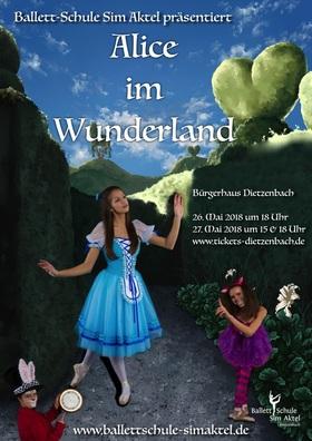 Bild: Ballett-Schule Sim Aktel präsentiert: - Alice im Wunderland