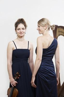 Bild: 15 Klangschön – Aparte Musik für Violine und Harfe