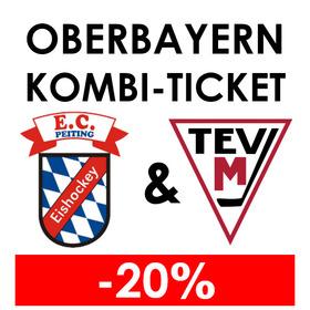 Bild: Oberbayern-Kombi-Ticket (EC Peiting & TEV Miesbach) = -20%