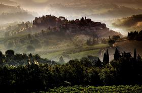 Bild: Toskana - Italien Traumlandschaften