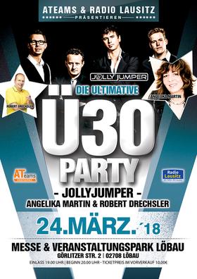 Bild: Die große Ultimative Ü30 Party mit Jolly Jumper uvm - präsentiert von Radio Lausitz und dem Oberlausitzer Kurier