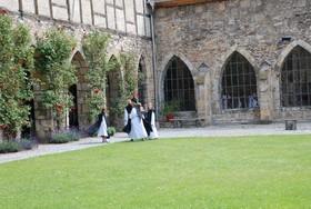 Bild: Kloster-Familienführung - Kater Michel, Bruder Grabolin und das Kloster