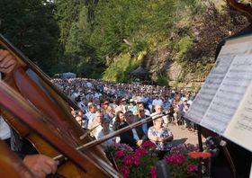 Bild: Talsperrenkonzert - mit der Thüringen Philharmonie Gotha-Eisenach