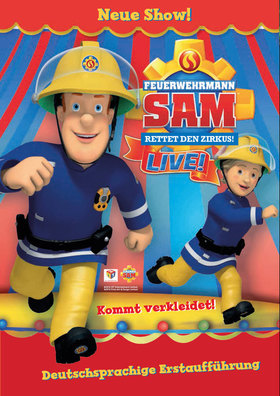 Bild: Feuerwehrmann Sam rettet den Zirkus