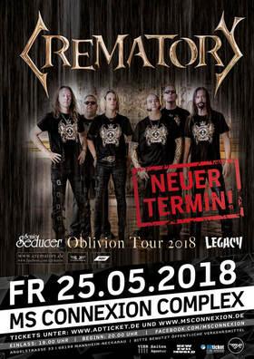 Bild: Crematory - Oblivion Over Germany Tour 2018