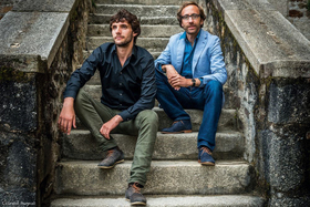 Bild: Duo Elin - Sakas - Christian Elin (ssx, tsx, bcl)) Maruan Sakas (piano)