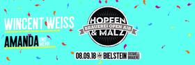 Bild: Hopfen & Malz Open Air 2018 - WINCENT WEISS, Amanda, Vincent Malin und andere...