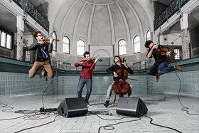 Bild: Junge Sommernacht der Klassik                vision string quartet
