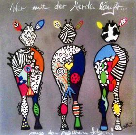 Bild: Artmasters - Paint-Party - Wer mit der Herde läuft