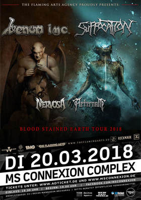 Bild: Venom Inc. - Blood Stained Earth TOUR 2018