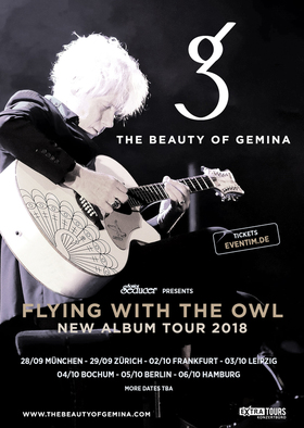 The Beauty Of Gemina - Flying With The Owl - New Album Tour 2018