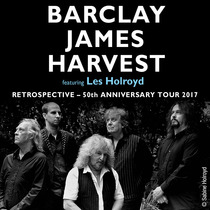 Bild: BARCLAY JAMES HARVEST feat. LES HOLROYD - Retrospective – 50th Anniversary Tour 2017