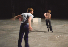 Bild: (Un)Domesticated Bodies: Live feed - Performance · Premiere