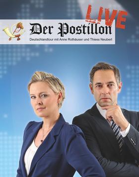 Bild: Der Postillon - LIVE - Deutschlandtour 2017 - 2018