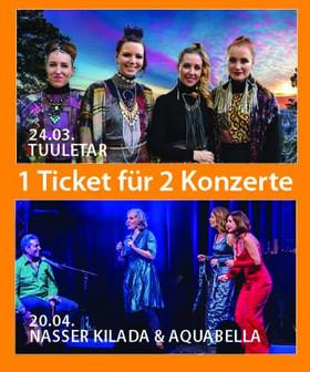 Bild: KOMBI TICKET für beide Konzerte 24.03. + 20.04.