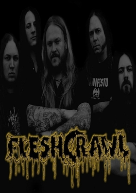 Bild: FLESHCRAWL & REVEL IN FLESH -
