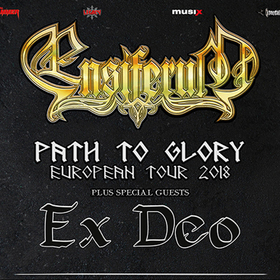 Bild: ENSIFERUM - Path to Glory Tour 2018 Sp. Guest EX DEO & WIND ROSE