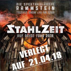 Bild: STAHLZEIT - Auf Reise Tour 2018