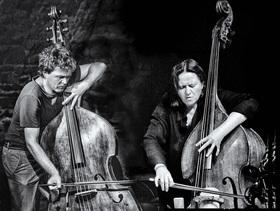 Bild: Double The Double Bass // Joëlle Léandre & Sebastian Gramss - Double The Double Bass