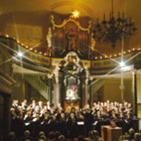 Bild: Weihnachtsmusik bei Kerzenschein - Lieder, Motetten, Orgelwerke aus dem 16. bis 20. Jahrhundert