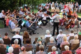 Bild: Serenadenkonzert des Orchestervereins collegium musicum