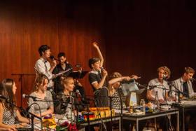 Bild: Gullivers Reisen - Live-Hörspiel des Studios für Sprechkunst