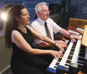 Bild: Orgelkonzert zum Katharinenmarkt - Vierhändige Orgelmusik von Bach, Mozart, Beckschäfer, Merkel u.a.