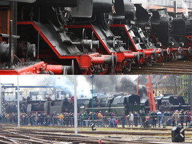Bild: Zum Dampfloktreffen Dresden + Zur Dampflok-Parade Wolsztyn