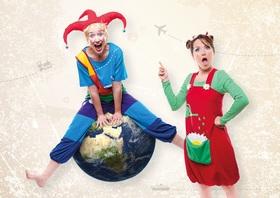Bild: Der Weltenkasper - Einmal um die ganze Welt