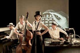 Bild: Robert Nippoldt und das Trio Größenwahn
