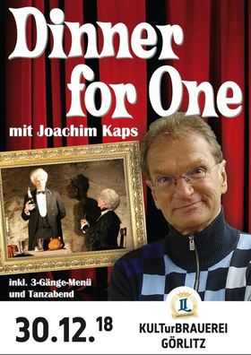 Bild: Dinner for One mit Joachim Kaps