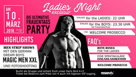 Bild: Ladies Night exclusiv - Die ultimative Frauentagsparty - Ladies Night exclusiv - Die ultimative Frauentagsparty