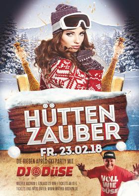 Hüttenzauber l die Après Ski-Party