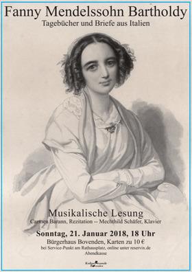 Bild: Fanny Mendelssohn: Tagebücher und Briefe aus Italien - Premiere